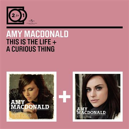 Amy MacDonald - 2 For 1: This Is The Life / A Curious Thing (2 CDs)