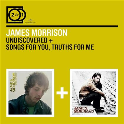 James Morrison - 2 For 1: Undiscovered / Songs For You Truths For Me (2 CDs)