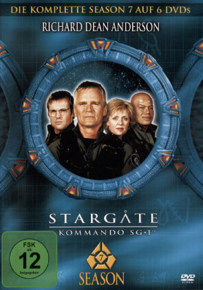 Stargate Kommando - Staffel 7 (6 DVDs)