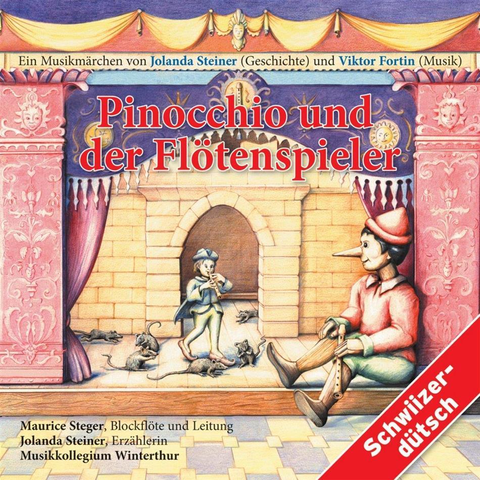 Steiner/Steger/Musikkollegium Winterthur - Pinocchio Und Der Flötenspieler