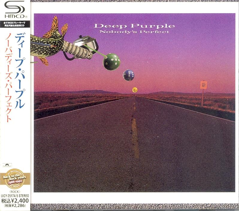 Deep Purple - Nobody's Perfect (2 CDs)