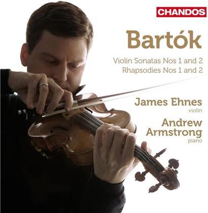 Ehnes James / Armstrong Andrew & Béla Bartók (1881-1945) - Violinsonaten 1 & 2 / Rhaps. 1 & 2 (Remastered)