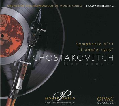 Orchestre Philharmonique De Monte-Carlo & Dimitri Schostakowitsch (1906-1975) - Sinfonie Nr11