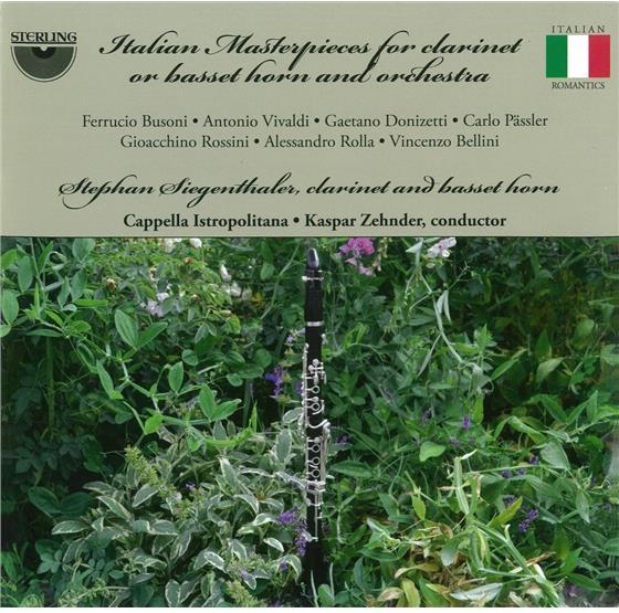 Stephan Siegenthaler & --- - Ital. Masterp. F. Clarinet & Bassethorne