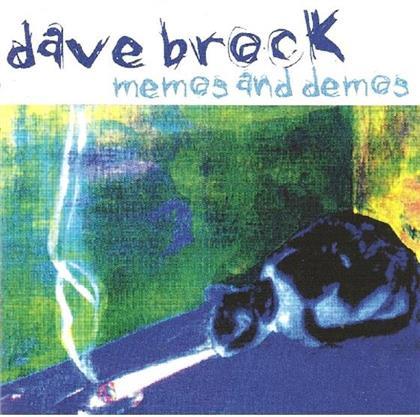 Dave Brock - Memos & Demos (Remastered)