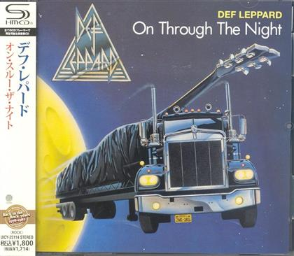 Def Leppard - On Through The Night (Japan Edition)