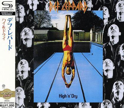 Def Leppard - High'n'dry (Japan Edition)