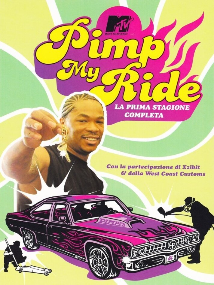 MTV: Pimp my ride - Stagione 1 (3 DVDs)