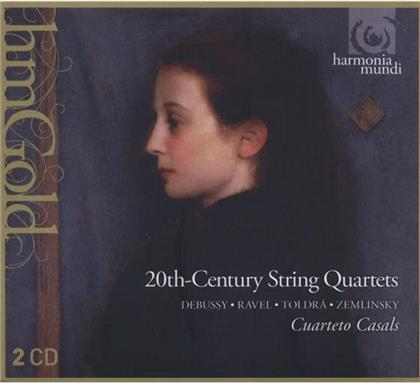 Casals Quartett & Debussy / Ravel / Toldra / Zemlin - Debussy, Ravel, Toldra, Zemlin (2 CDs)