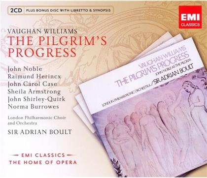 Boult Sir Adrian / Noble / Armstrong & Ralph Vaughan Williams (1872-1958) - Pilgrim's Progress (Remastered, 3 CDs)