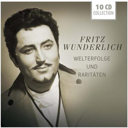 Fritz Wunderlich - Welterfolge Und Raritäten (10 CDs)