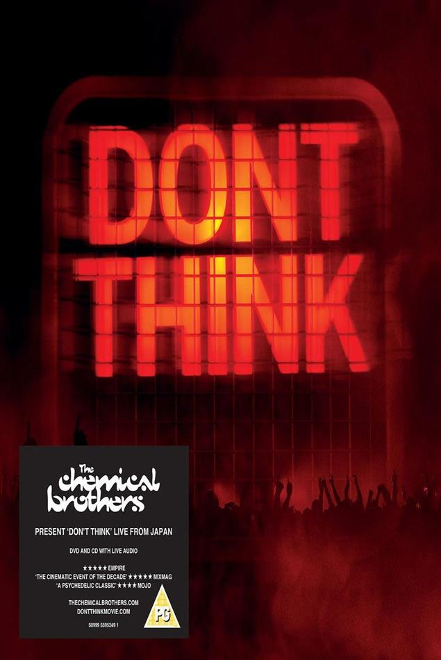 The Chemical Brothers - Don't Think - Live (CD + DVD)