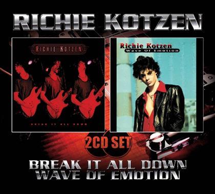 Richie Kotzen (Winery Dogs) - Break It All Down / Wave Of Emotion (2 CDs)