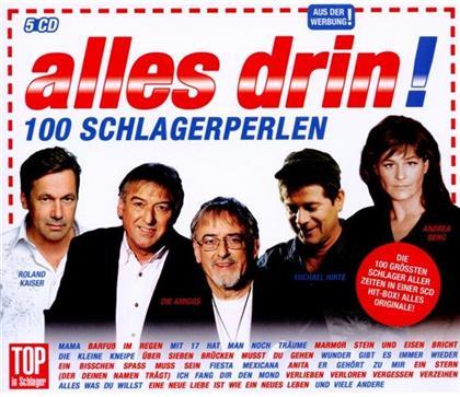 100 Schlagerperlen - Various (5 CDs)