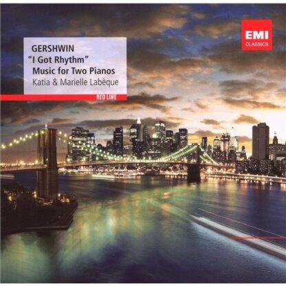 Labeque Katia & Marielle & George Gershwin (1898-1937) - I Got Rhythm - Music For 2 Pianos