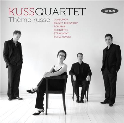 Kuss Quartet & Glazunov / Scriabin / Schnittke / - Thème Russe