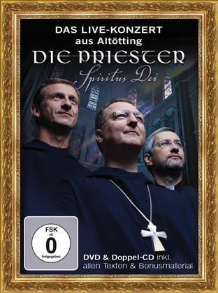 Die Priester & --- - Spiritus Dei - Live-Konzert (2 CDs + DVD)