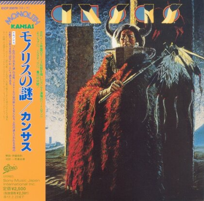 Kansas - Monolith - Papersleeve & 1 Bonustrack (Japan Edition, Remastered)