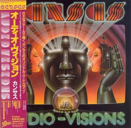 Kansas - Audio Visions - Papersleeve (Japan Edition, Remastered)