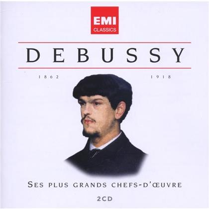 Various & Claude Debussy (1862-1918) - Chefs D'oeuvre (2 CDs)