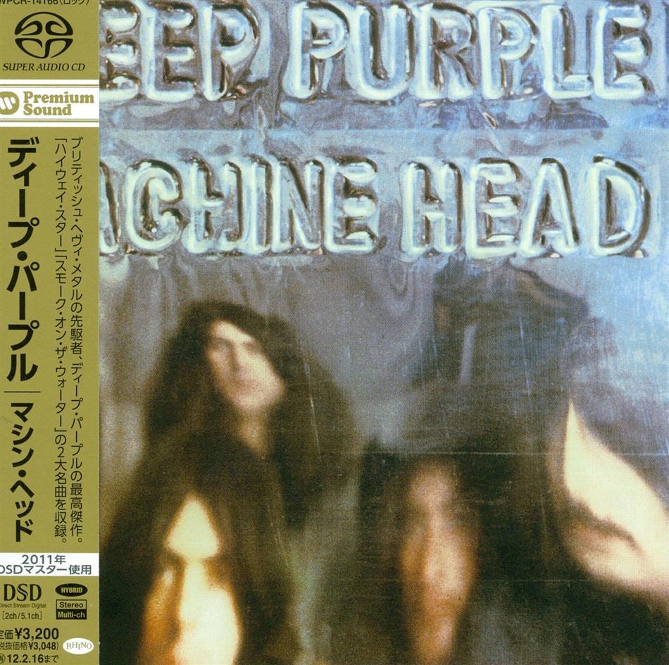 Deep Purple - Machine Head - 1 Bonustrack (Japan Edition, SACD)