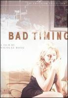 Bad timing (1980) (Criterion Collection)