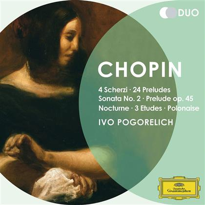 Ivo Pogorelich & Frédéric Chopin (1810-1849) - 4 Scherzi / 24 Preludes / Sonata 2 (2 CDs)