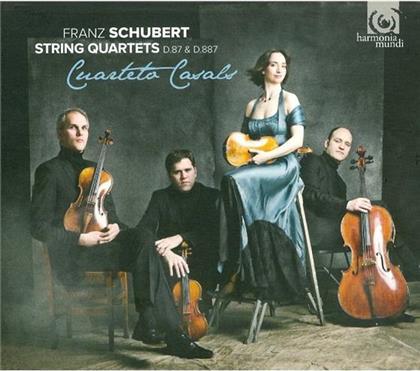 Cuarteto Casals & Franz Schubert (1797-1828) - Streichquartett Nr10 In Es-Dur