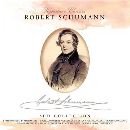 --- & Robert Schumann (1810-1856) - Signature Classics: Meisterwerke (5 CDs)