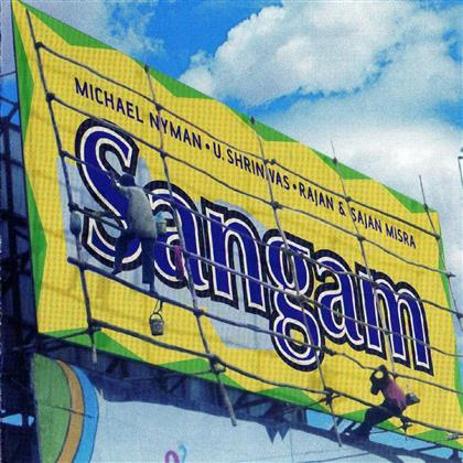 Michael Nyman (*1944 -) & Michael Nyman (*1944 -) - Sangam - Michael Nyman Meets India