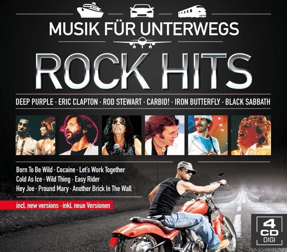 Rock Hits - Musik Für Unterwegs (4 CDs)