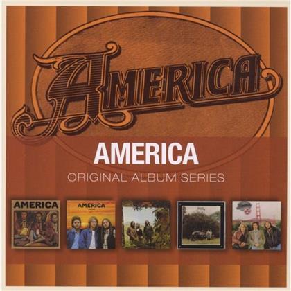 America - Original Album Series (5 CDs)
