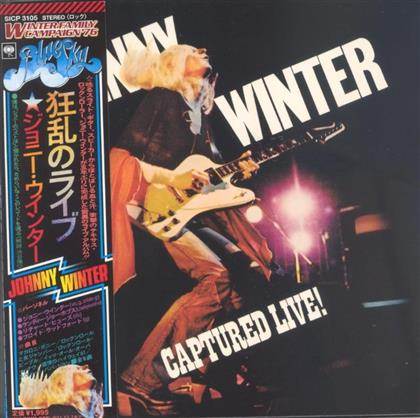 Johnny Winter - Captured Live (Limited Edition & Papersleeve, Japan Edition, Remastered)