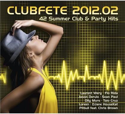 Clubfete - Various 2012/2 (2 CDs)