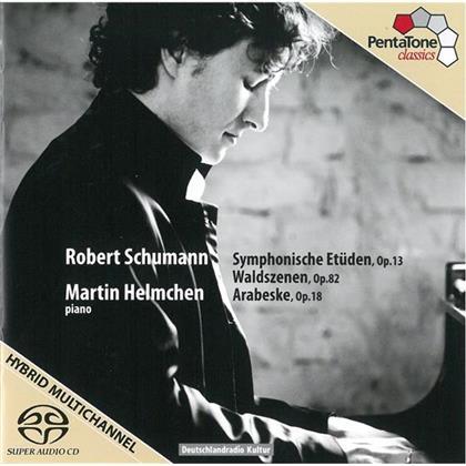 Martin Helmchen & Robert Schumann (1810-1856) - Symphonische Etueden Op13, Arabesque (SACD)