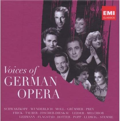 --- & --- - Voices Of German Opera (5 CDs)