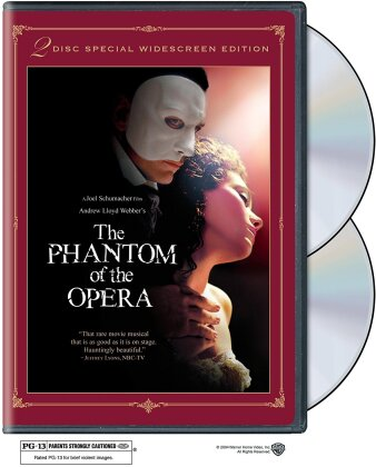 The Phantom of the Opera (2004) (Special Edition, 2 DVDs)