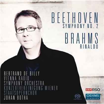 Billy Bertrand De / Botha Johan /Orf Rso & Beethoven/Brahms - Sinfonie Nr. 2 / Rinaldo