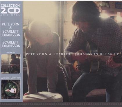 Pete Yorn & Scarlett Johansson - Anywhere I Lay My Head / Break U (2 CDs)