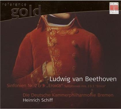 Schiff / Deutsche Kammerphilharmie & Ludwig van Beethoven (1770-1827) - Sinfonien Nr.2 & 3