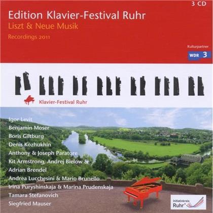Levit / Moser / Giltburg / Kozhukhin & --- - Liszt & Neue Musik, Kfr Vol 27 (3 CDs)