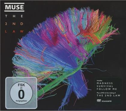Muse - 2nd Law (Limited Edition - Digipack, CD + DVD)