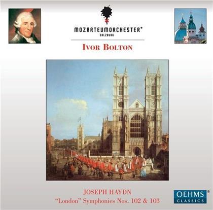 Bolton Ivor / Mozarteum Orch. Salzburg & Joseph Haydn (1732-1809) - Sinf Nr. 102 & 103