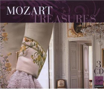 --- & Wolfgang Amadeus Mozart (1756-1791) - Mozart Treasures (3 CDs)