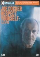 Joe Cocker - Respect yourself: Live (Collector's Edition, DVD + CD)
