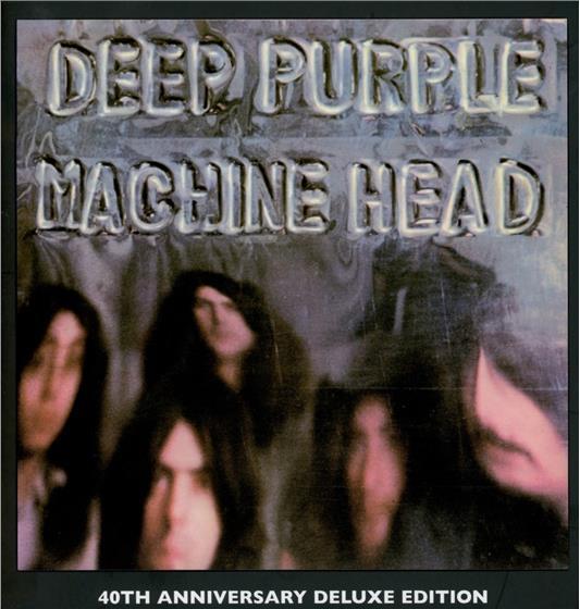 Deep Purple - Machine Head - 40Th Anniversary (4 CDs + DVD)
