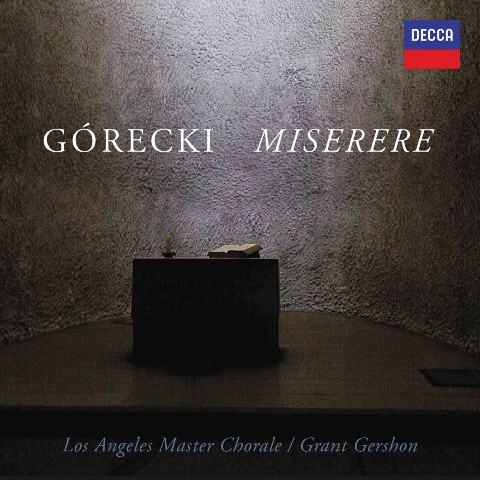 Los Angeles Master Chorale & Henryk Mikolaj Górecki (1933-2010) - Miserere
