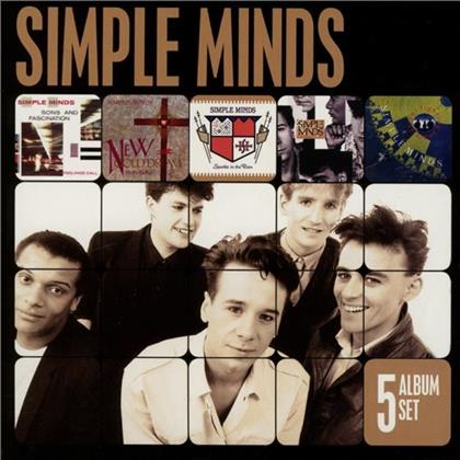 Simple Minds - 5 Album Set (5 CDs)