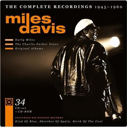 Miles Davis - Complete Recordings 1945-1 (34 CDs)