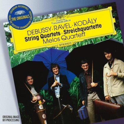 Melos Quartett & Debussy / Ravel / Kodaly - Originals